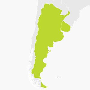 Argentina and Uruguay sat nav hire