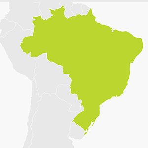 Hire a sat nav for Brazil